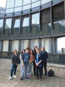 Besuch im Düsseldorfer Landtag 03.10.14